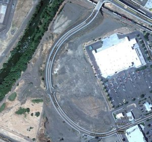 Aerial View of the Pendleton, Oregon Wal*Mart Property